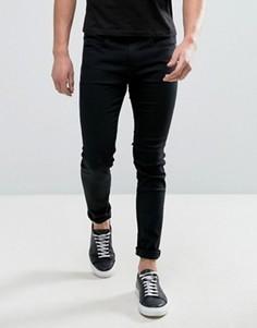 Серные эластичные джинсы скинни HUGO by Hugo Boss Hugo 131 - Черный