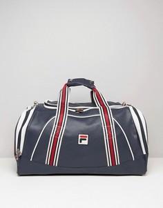 Темно-синяя сумка среднего размера Fila Vintage - Темно-синий