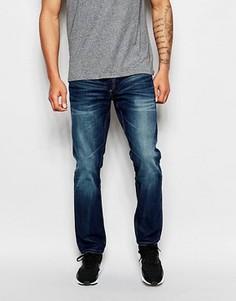Темно-выбеленные джинсы свободного кроя Jack & Jones Intelligence - Синий