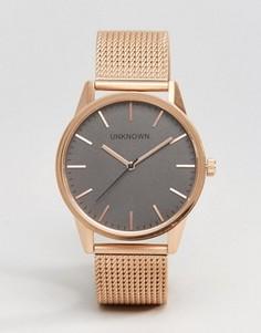 Классические часы 39 мм цвета розового золота UNKNOWN - Золотой