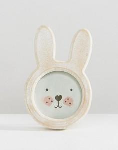 Рамка для фотографии в виде кролика Sass & Belle - Мульти