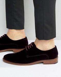 Бархатные туфли дерби Ted Baker Nierro - Красный