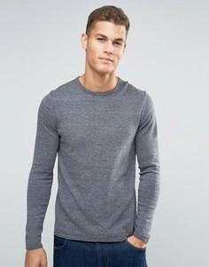 Джемпер с круглым вырезом Esprit - Серый