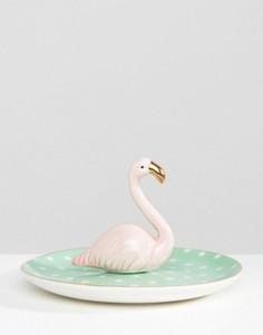 Подставка для украшений в виде фламинго Sass & Belle - Мульти
