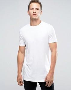 Удлиненная футболка Celio - Белый