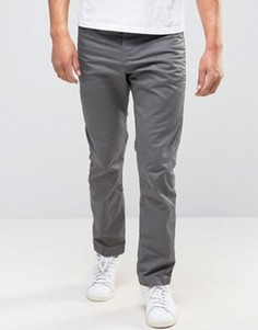 Серые окрашенные джинсы антифит со вставками Jack & Jones Intelligence - Серый