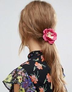 Украшение для волос с бумажными цветами ASOS - Красный