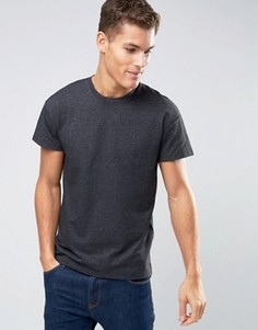 Oversize-футболка Selected Homme - Черный