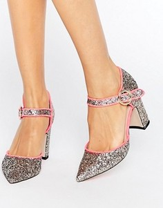Туфли на каблуке с острым носком ASOS SASSI - Мульти