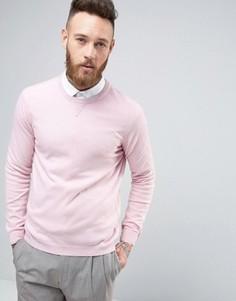 Трикотажный свитер из смесового кашемира ASOS - Розовый
