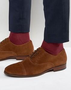 Замшевые оксфордские туфли ALDO Aalian - Коричневый