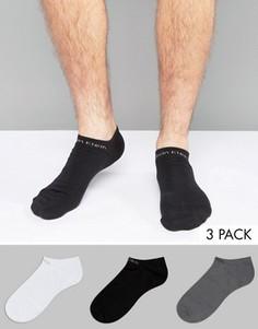 Комплект из 3 пар спортивных носков Calvin Klein Coolmax - Мульти
