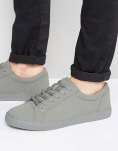 Серые кроссовки ASOS - Серый