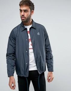 Темно-синяя спортивная куртка с логотипом PS by Paul Smith - Темно-синий