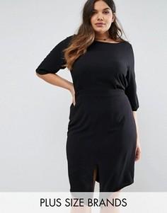 Приталенное платье Junarose - Черный