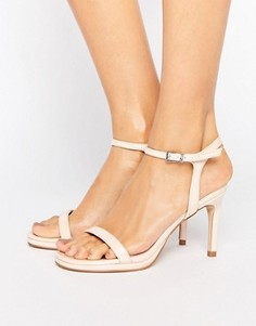 Телесные сандалии на каблуке Faith Dolly - Бежевый