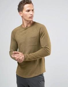 Свитшот с карманом Celio - Зеленый