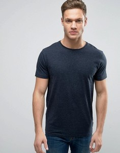 Меланжевая футболка Bellfield - Темно-синий