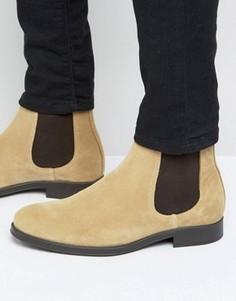 Замшевые ботинки челси Selected Homme Oliver - Stone