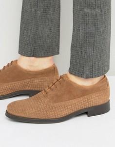 Замшевые туфли Selected Homme Oliver - Коричневый