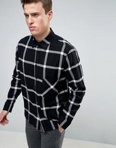 Рубашка в клетку Cheap Monday - Черный