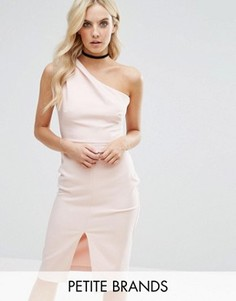 Платье миди на одно плечо Miss Selfridge Petite - Розовый