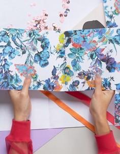 Упаковочная бумага с цветочным принтом Ohh Deer - 2 листа - Мульти