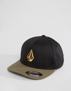 6-панельная шапка Volcom Full Stone - Зеленый