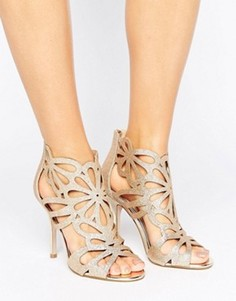 Miss KG Flutter Gold Cut Out Heeled Sandals - Золотой