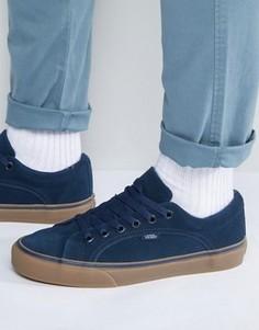 Синие кроссовки Vans Lampin VA2VIFLSY - Синий