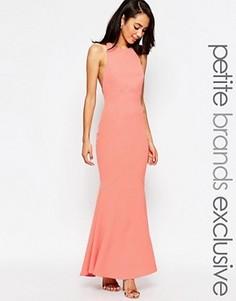 Платье макси с глубоким вырезом сзади Jarlo Petite Carmelita - Розовый