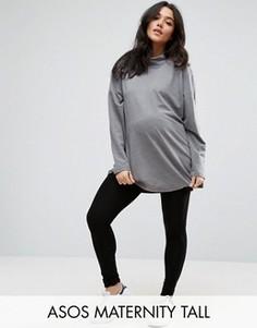 Леггинсы для беременных ASOS Maternity TALL - Черный