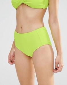 Трусики бикини с завышенной талией Boohoo Выбирай и комбинируй - Зеленый