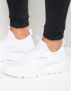 Белые кроссовки для бега Nike Air Huarache White 819685-101 - Белый