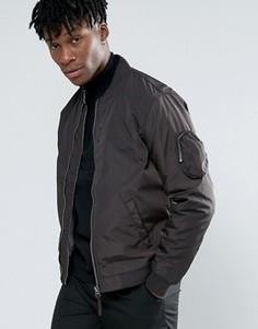 Нейлоновая дутая куртка‑пилот Bellfield - Черный