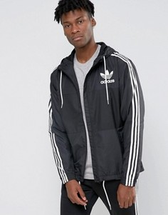 Ветровка adidas Originals CLFN AY7747 - Черный