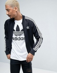Спортивная куртка с трилистником adidas Originals Superstar AY7059 - Черный