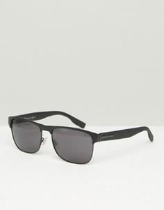 Квадратные солнцезащитные очки Hugo Boss - Черный
