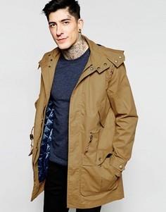 Вощеная куртка Original Penguin - Коричневый