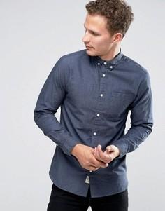 Рубашка на пуговицах Selected Homme - Темно-синий
