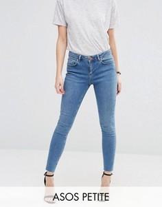 Облегающие джинсы ASOS PETITE Lisbon - Синий