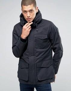 Куртка с капюшоном и карманами Brave Soul Premium - Темно-синий