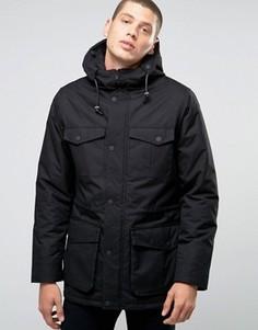 Куртка с капюшоном и карманами Brave Soul Premium - Черный