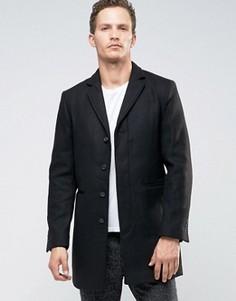 Пальто Selected Homme - Черный