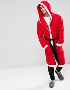 Халат Санта-Клаус ASOS - Красный