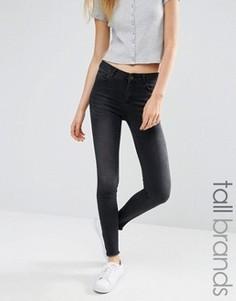 Зауженные джинсы New Look Tall - Черный