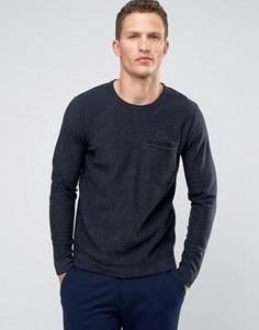 Джемпер с карманом Troy - Темно-синий