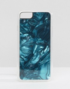 Чехол для iPhone 7 с принтом лазурита Zero Gravity - Мульти