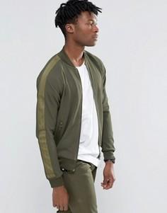 Зеленая спортивная куртка adidas Originals Brand Pack AY9304 - Зеленый