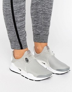 Серые кроссовки Nike Sockdart - Серый